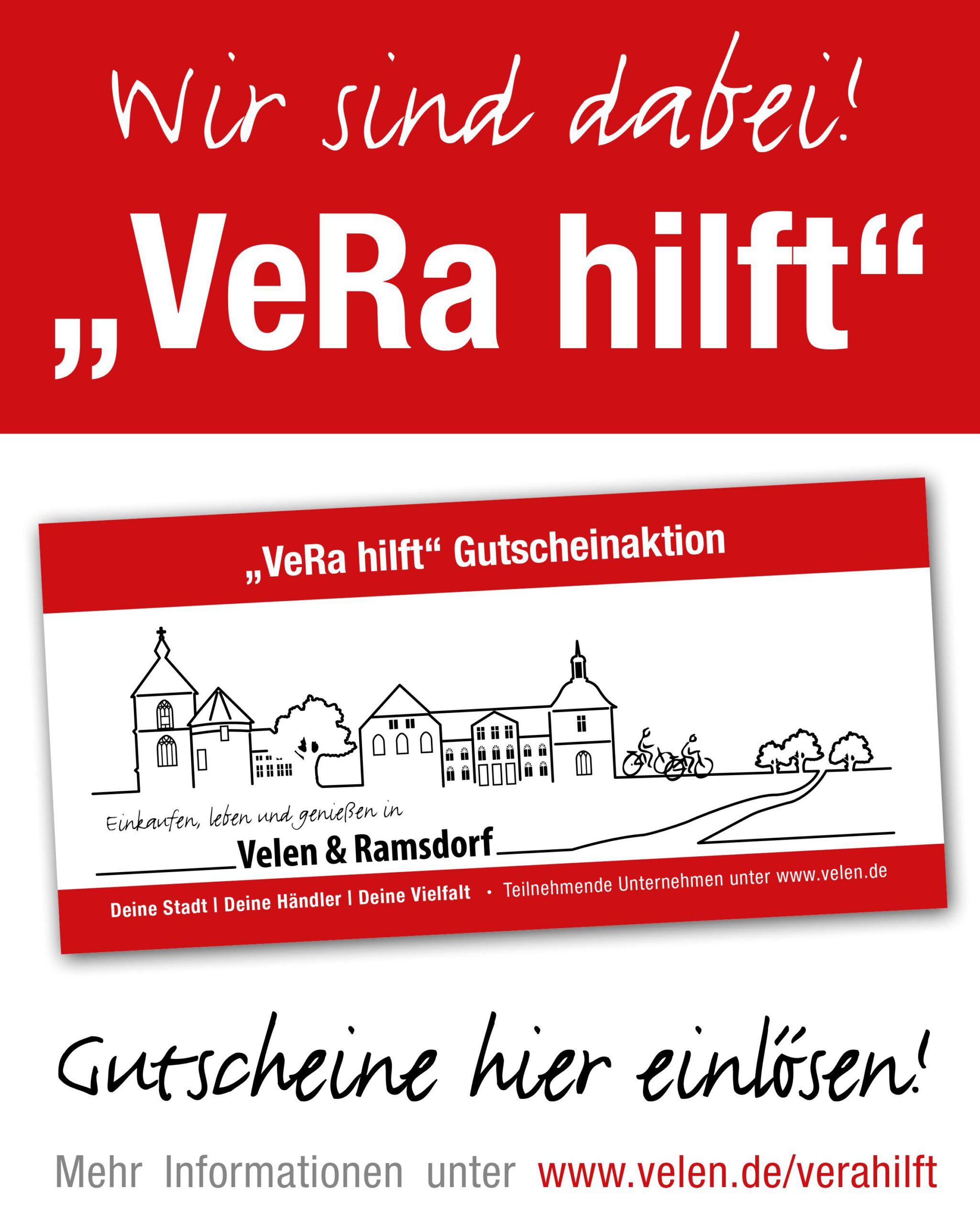 """Wirtschaftsförderungsprogramm """"VeRa hilft""""!"""